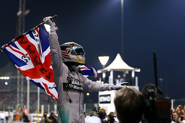 Lewis Hamilton 2014 Abu Dhabi