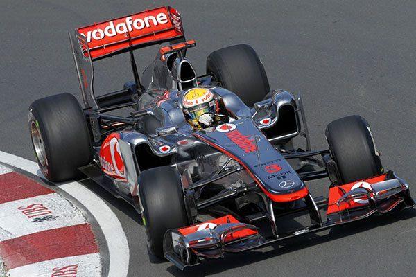 Lewis Hamilton a 2011-es McLaren MP4-26-ban