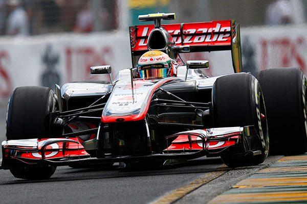 Hamilton a 2012-es Ausztrál nagydíjon